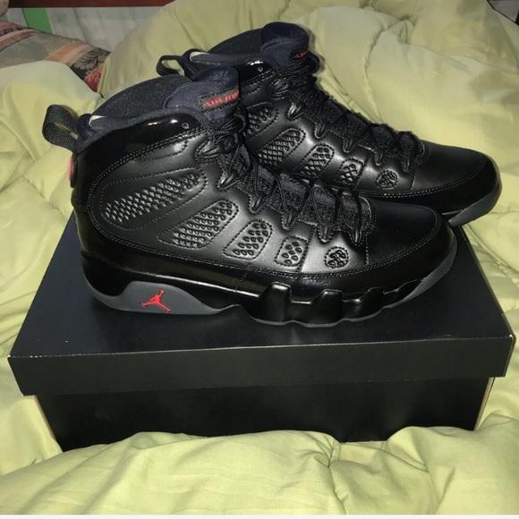 buy online 5bf48 e2610 New Men's Nike Air Jordan Retro 9 IX Bred NWT